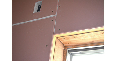 Thermal insulation composite panel with formaldehyde absorption decomposition gypsum board [Achilles HC panel]
