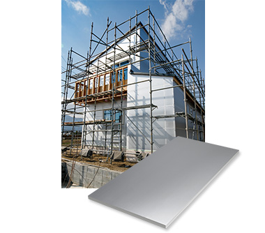 High-performance rigid urethane foam insulation material with thermal barrier surface material [Z1 Board]